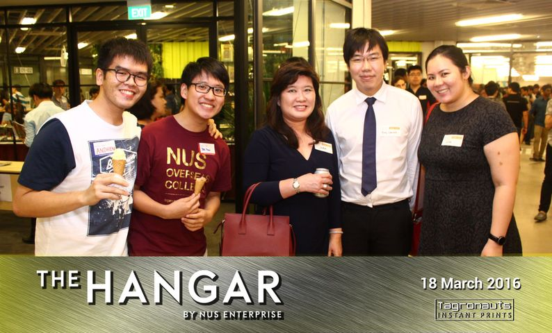 The hanger opening instant photography tagronauts singapore