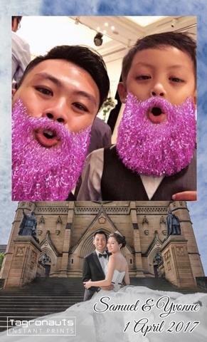Samuel yvonne wedding singapore instagram printing tagronauts 1