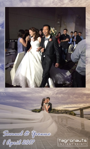 Samuel yvonne wedding singapore instagram printing tagronauts 2