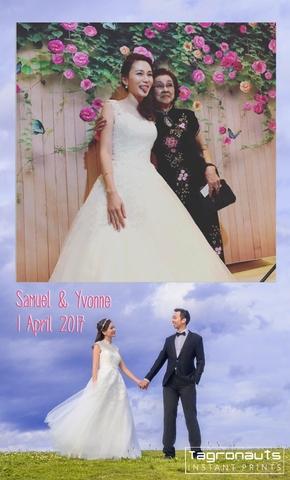 Samuel yvonne wedding singapore instagram printing tagronauts 3