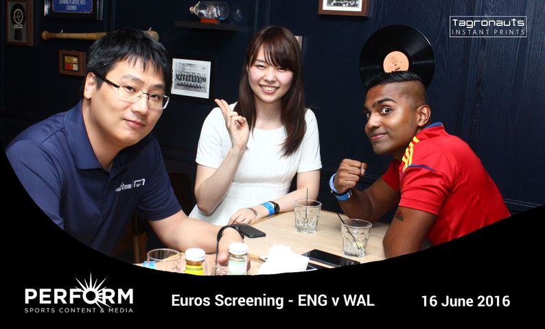 Perform euros screening 2016 instant photography tagronauts singapore
