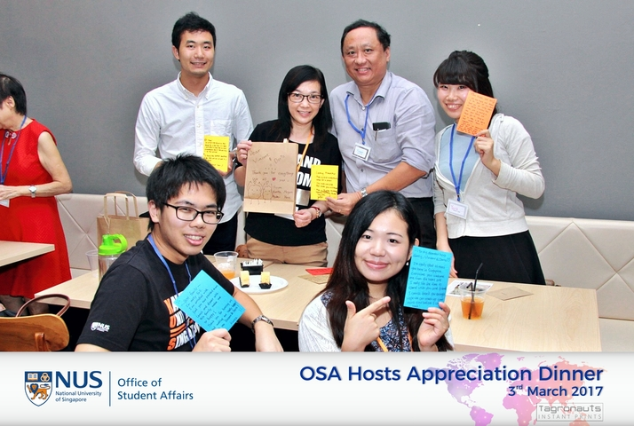 Nus osa hosts appreciation dinner