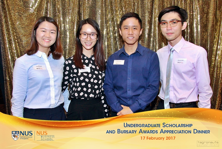 Nus business undergraduate scholarship and bursary awards appreciation dinner