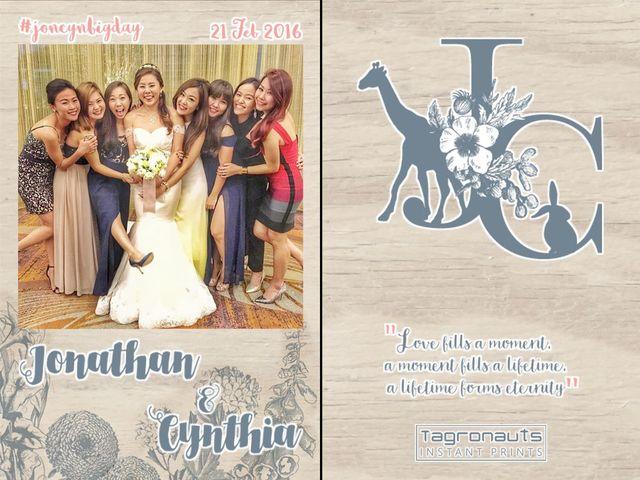 Jonathan cynthia singapore wedding instagram printing tagronauts
