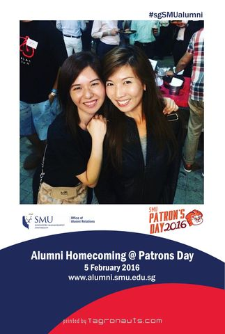 Smu alumni homecoming patrons day 2016 instagram printing singapore